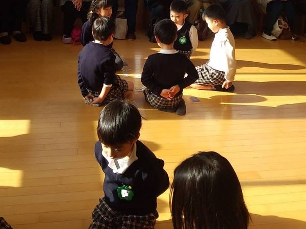 1月 卒園前保育参観(5歳)